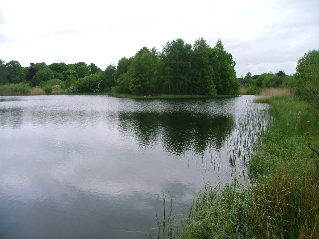 Loch Adjacent to Service Station
