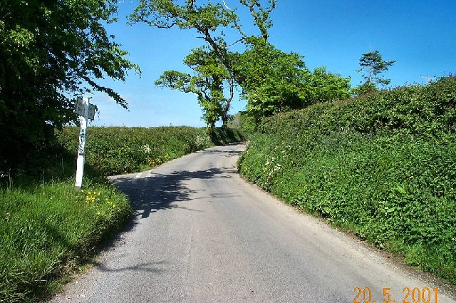 Country road - Devon