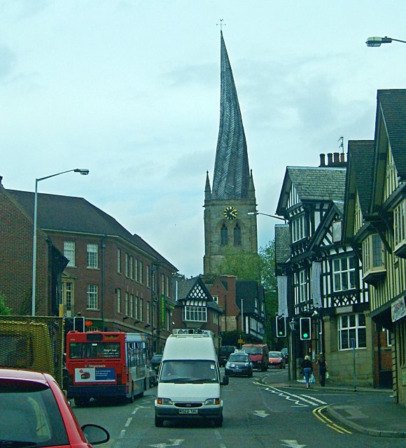 B6543 in Chesterfield