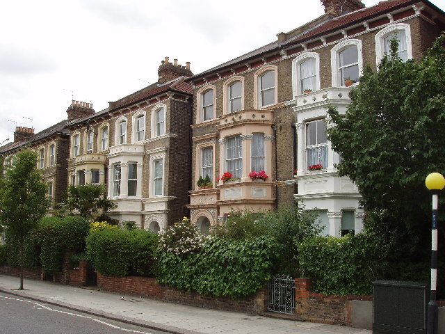 Houses in North Pole Road, North Kensington