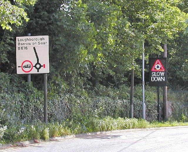 Responsive Road Sign