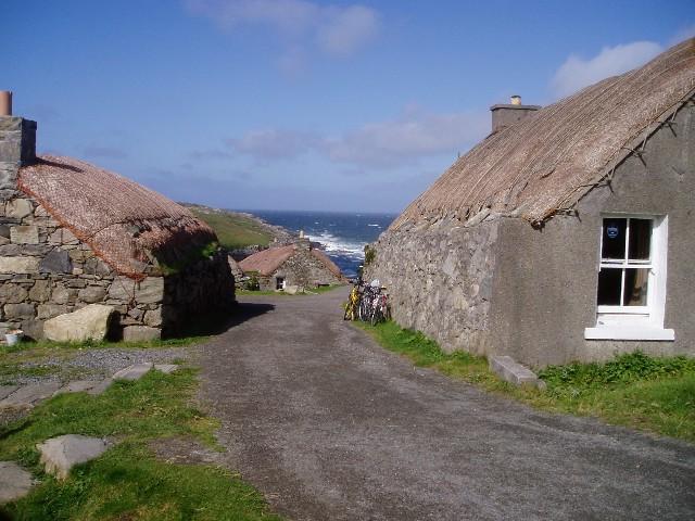 Gearrannan (Garenin) Blackhouse Village
