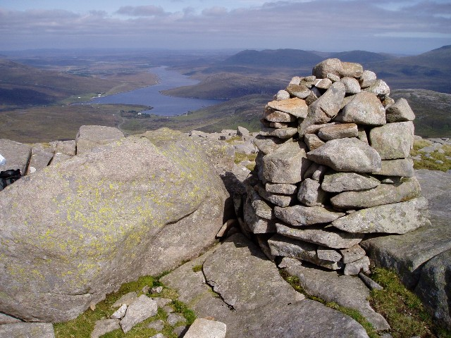 Summit of Tomnabhal