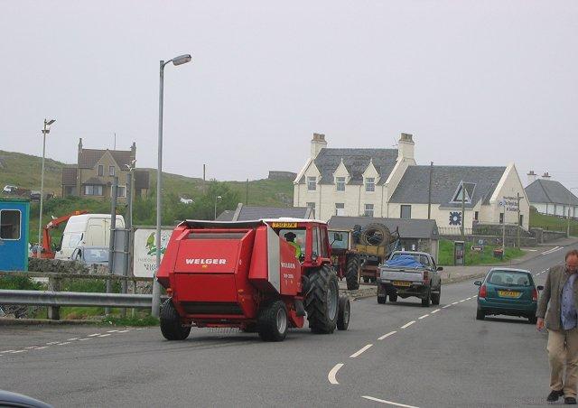 Rush hour - Lochboisdale.