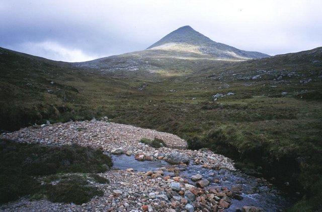 An Cliseam from the Abhainn Mharaig.
