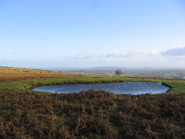 Tarn on Hergest Ridge