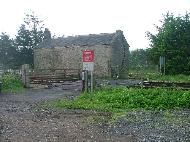 Farm Track Level Crossing