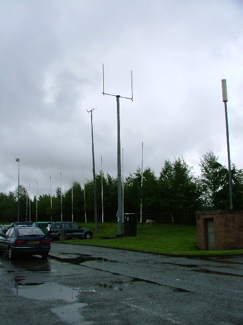 Mobile Phone Mast, Happendon Service Station M74