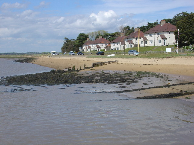 Houses at Bawdsey