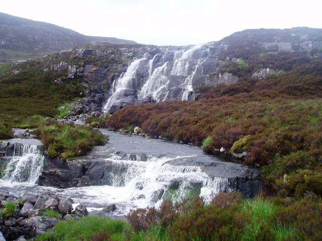 Waterfall on the Abhainn Thràil
