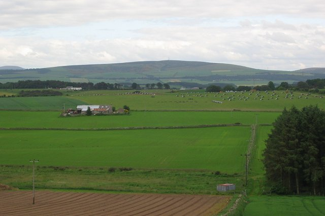 From Hill of Spynie.