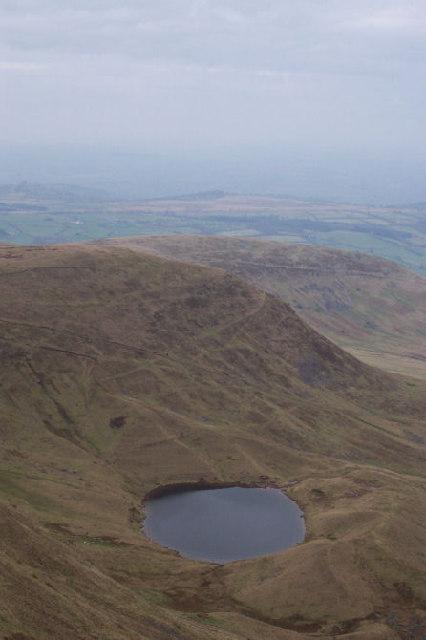 View from Craig Cwm Llwch