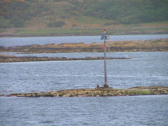 Navigation Light off Eilean Traighe