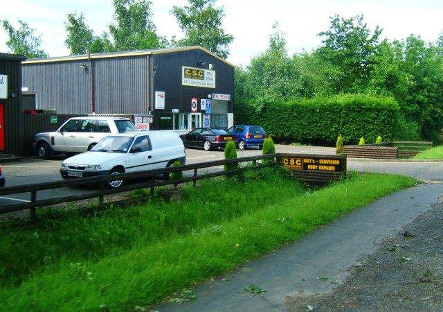 Car repair shop in Hardwick
