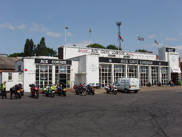 Ace Cafe, North Circular near Stonebridge