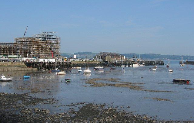 Granton Harbour.