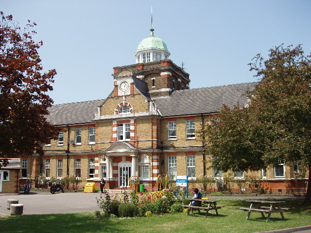 Central Middlesex Hospital, Clock Tower entrance