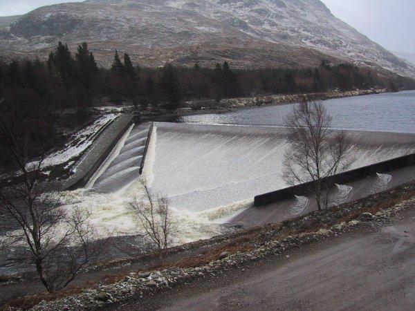 Loch Treig Overflows