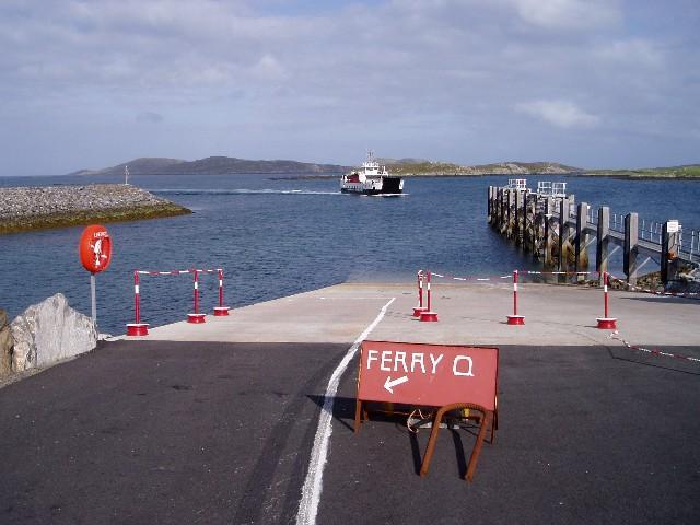 Aird Mhor ferry slipway, Barra