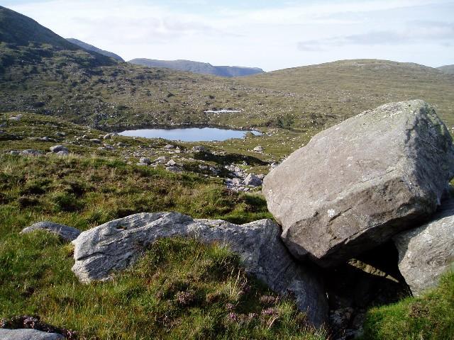 Coire na h-Aonaig Moire and Loch Mhisteam