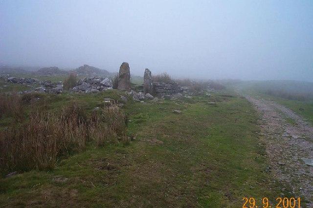 Eylesbarrow tin mine