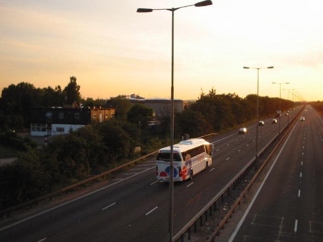 Slough Sewage Works and M4 Motorway