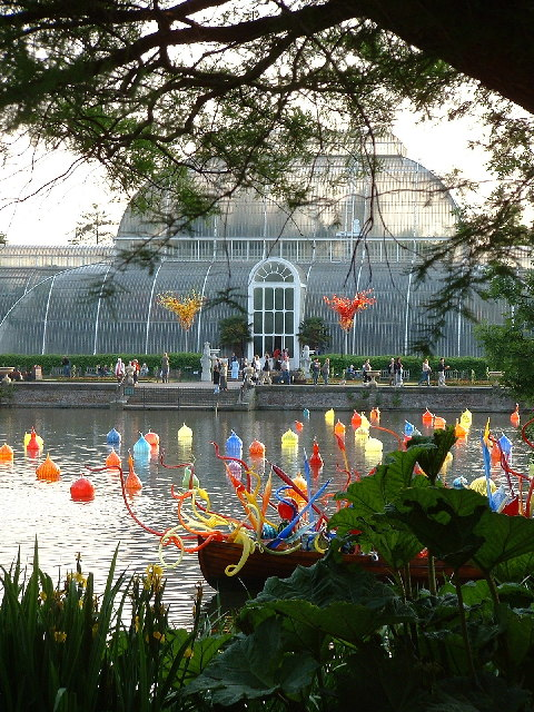 Kew Gardens Dale Chihuly Exhibition Mark Pepall Geograph Britain And Ireland