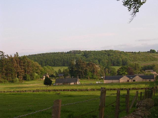 Farmland west of Bridgefoot