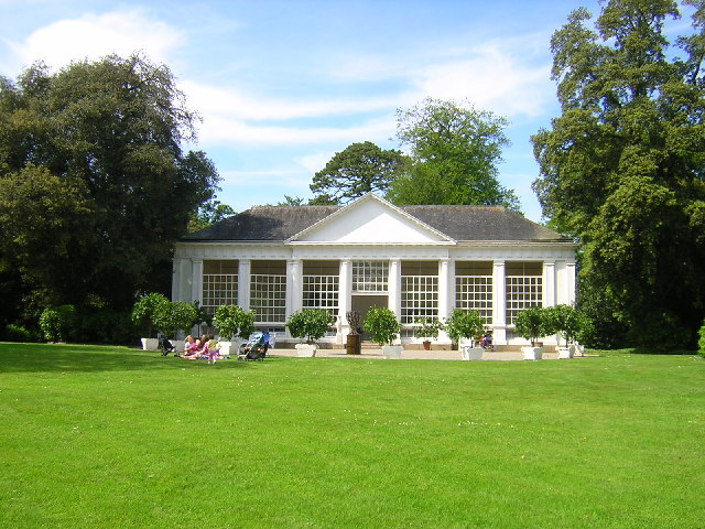 Picnic in front of The Orangery Saltram House