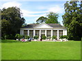 SX5155 : Picnic in front of The Orangery Saltram House by William Ward