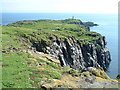 NT6598 : View towards Maiden Hair (SE), Isle of May by Steve Johnston