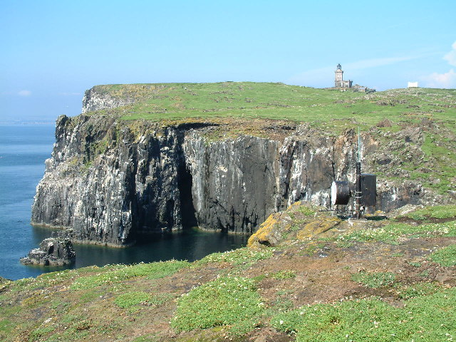 Upper Lighthouse & Cliffs, Isle of May