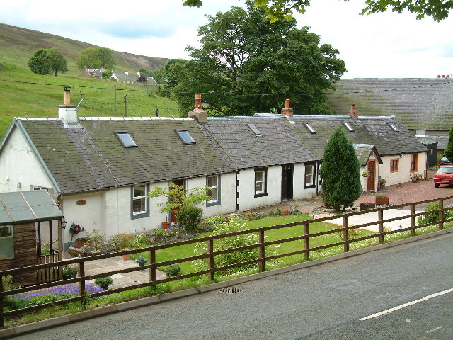 Cottages, Leadhills