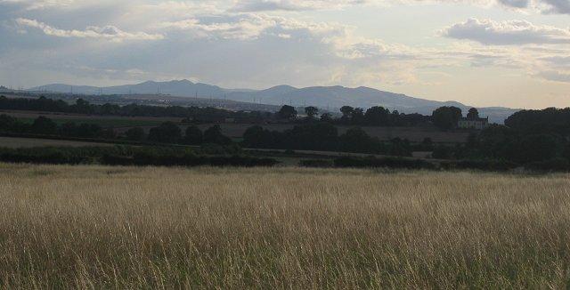 Fallow field, Loch Hill