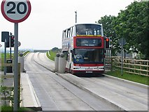 NT2071 : Guided Busway by Richard Webb