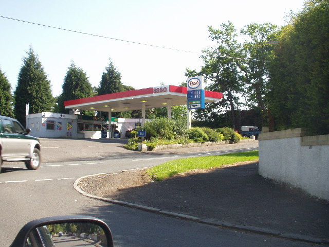 Petrol Station, Mearns Road, Broom