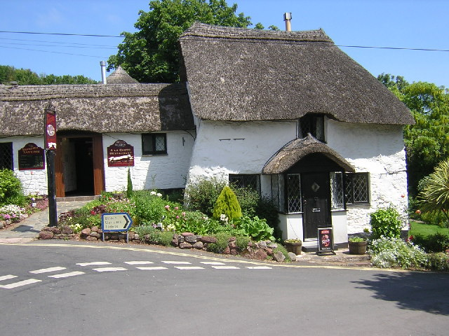 The Thatched Tavern. Maidencombe Torquay