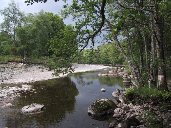 River Spean by Tulloch Farm