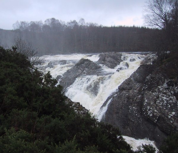 Inverlair Falls