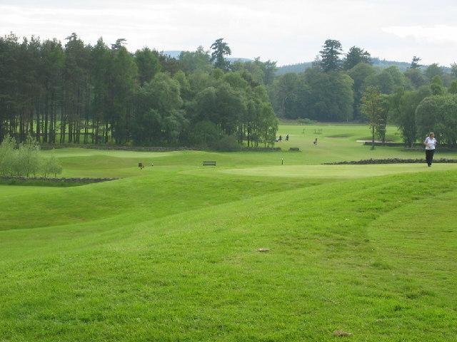 Inchmarlo golf course