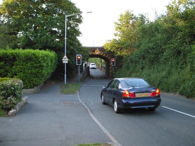 Huntercombe Lane Railway Bridge