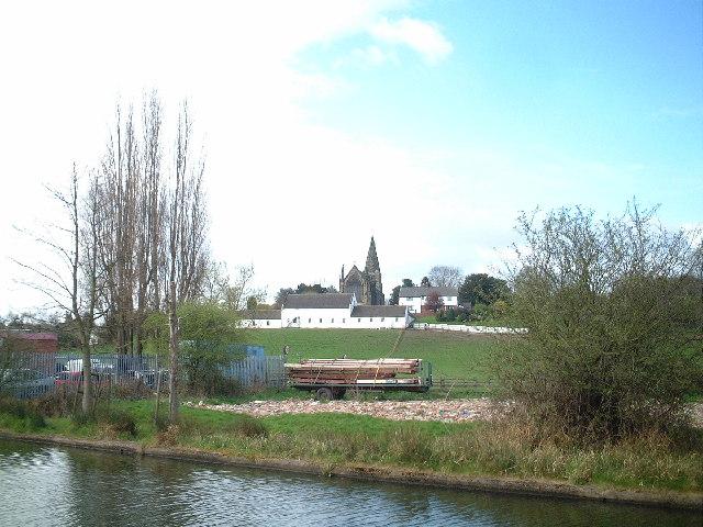 Church Farm, Sandiacre from the Erewash Canal