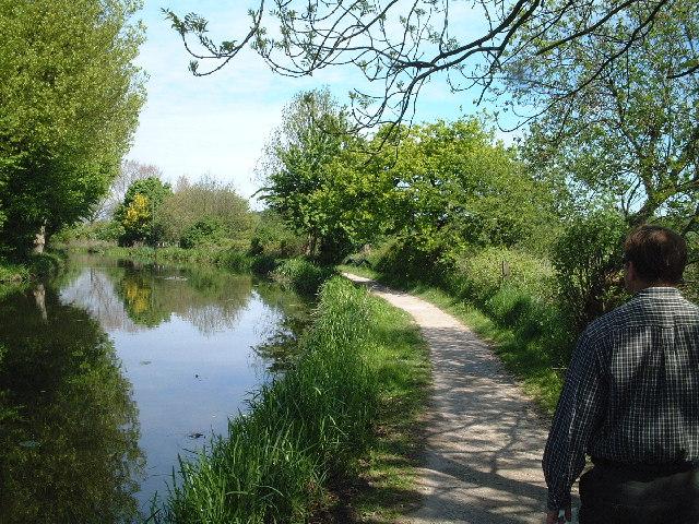 The Erewash Canal nr Stanton, Derbyshire