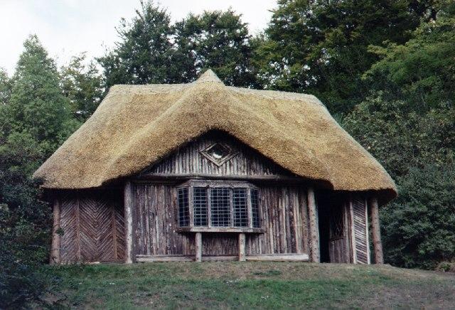 The Bear's Hut, Killerton Gardens