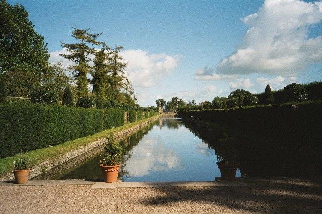 Westbury Court Garden, one of the canals