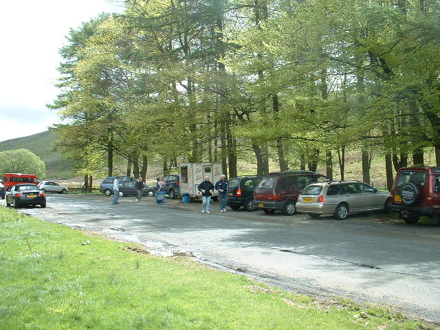 Langden Brook parking area, Bowland