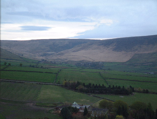Upper Diggle Valley from Carr House