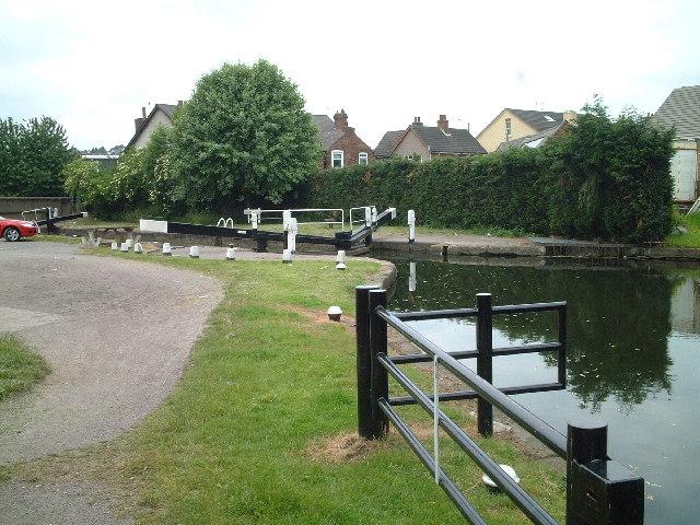 Gallows Inn lock, Ilkeston, Derbyshire