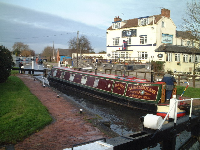Trent Lock and The Steamboat, Sawley, Derbyshire