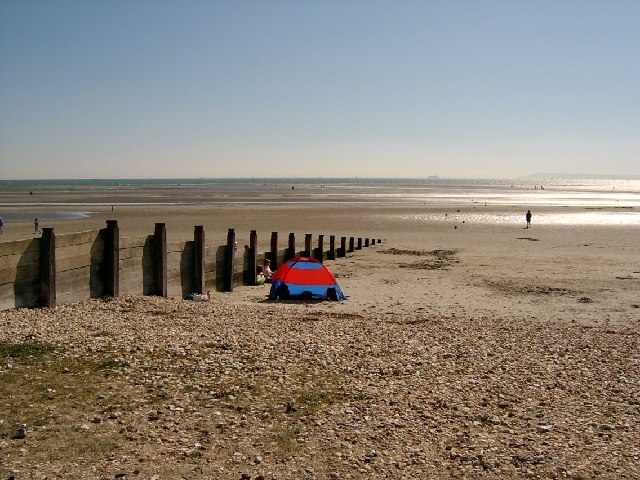 Looking out to sea from West Wittering beach
